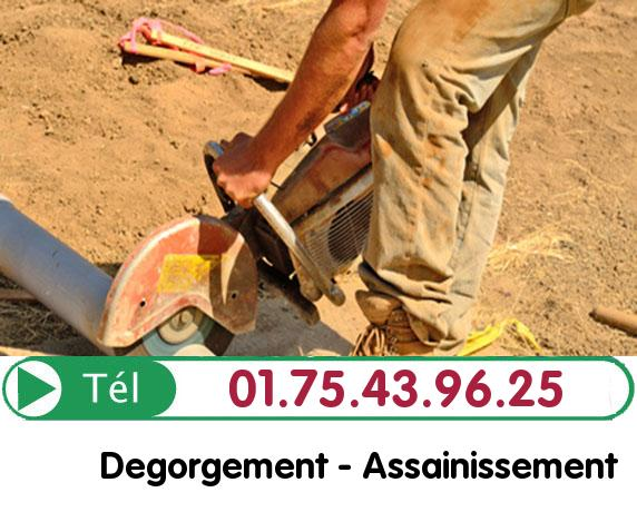 Curage camion pompe Montmorency 95160